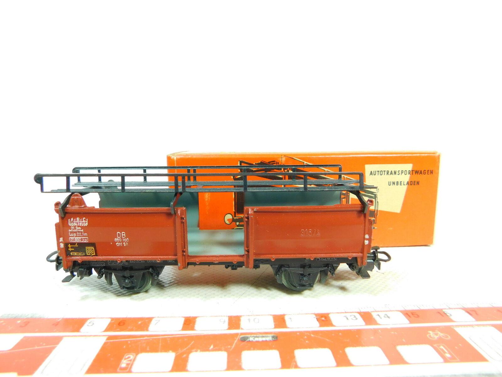 5 Bt607-0, Märklin Db, +Box Good 4 315 52 off Wagon Carrying