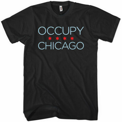 Windy City Anarchy Riot Wall Street Protest 99 OCCUPY CHICAGO T-shirt XS-4XL
