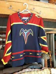 Atlanta-Thrasher-CCM-Jersey-Men-039-s-Small