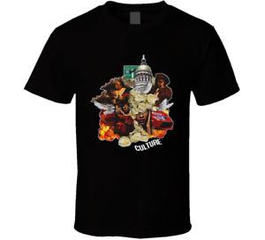 Migos Culture T Shirt music hip hop rap band amigos song Black Men/'s tee NEW