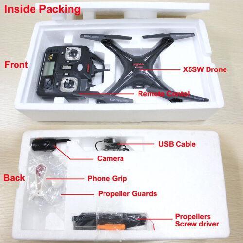 Syma X5SW-V3 Wifi Explorers 2.4G RC Headless Quadcopter Drones with HD Camera