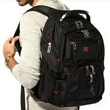 SwissGear Men Women Laptop Backpack Computer Notebook Travel Shoulder School Bag