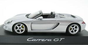 Minichamps-porsche-carrera-gt-plata-convertible-1-43-en-OVP-box-wap02007411