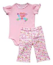 "Carter's 2-piece Bodysuit & Pull-On Pants Set ""I Love Mommy"", Size: 3 months"