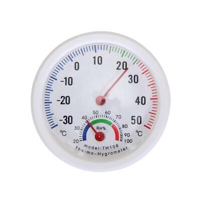 Mini Thermohygrometer Thermometer Hygrometer Luftfeuchtigkeit Analog Kombi Neu
