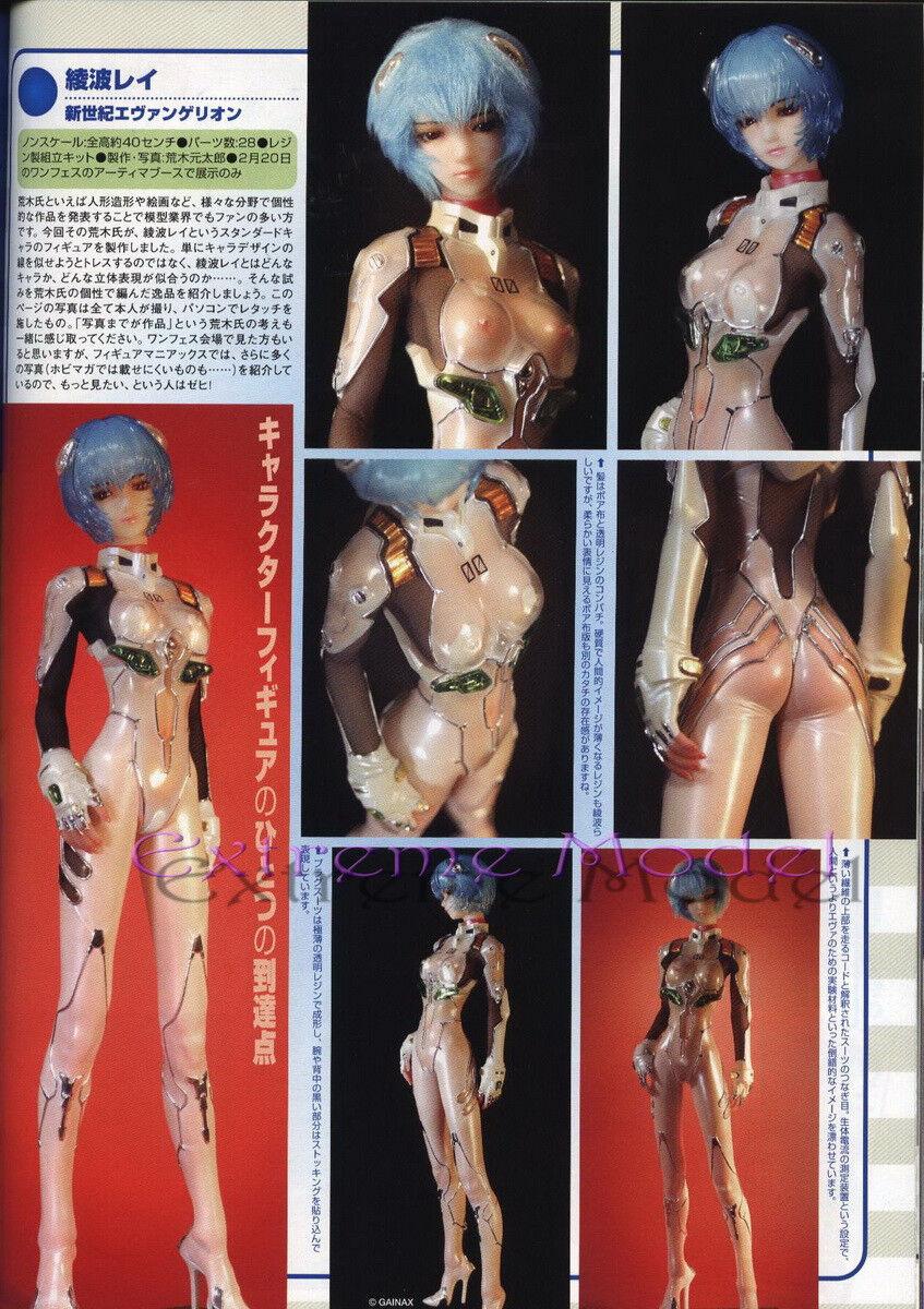 1 4 Evangelion AYANAMI REI in Plug Suit Gentarou Ver.15 Tall Unpainted ResinKit
