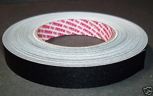 Selbstklebendes Fälzelband Papierband Regutaf  50 m x 25 mm schwarz