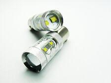 P21/5W 380 BAY15d WHITE 50W CREE LED TAIL STOP CAR BULBS A