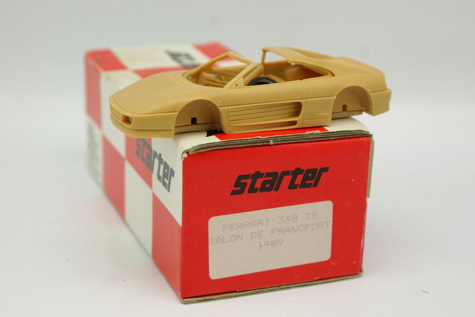 Starter Kit à monter 1 43 - Ferrari 340 TS Francfort 1989