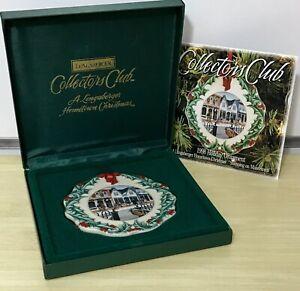 Longaberger Collectors Club Hometown Christmas Ornament ...