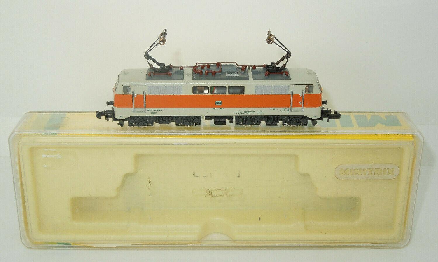 Minitrix Spur N 12972 E-Lok BR 111 der DB - S-Bahn Lackierung
