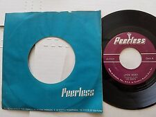 "LOS BABYS - Por Que / Si Conmigo Tu No Estas LATIN POP 7"" Peerless"