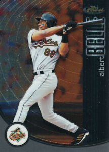 Albert Belle 2001 Topps Finest #24 Baltimore Orioles baseball card