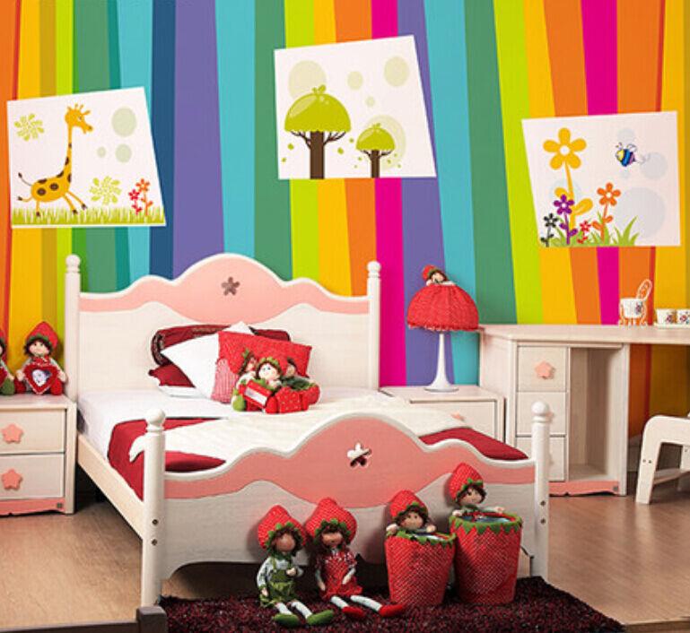 3D Cartoon Rainbow 4206 Paper Wall Print Decal Wall Wall Mural AJ WALLPAPER GB
