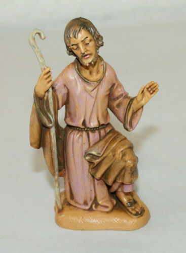 5/'/' Vintage Depose Italy Fontanini Christmas Nativity Figure Figurine Joseph  #1