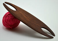 Weaving Shuttle For Inkle Loom Tablet Or Card Weaving Handcrafted From Mahogany