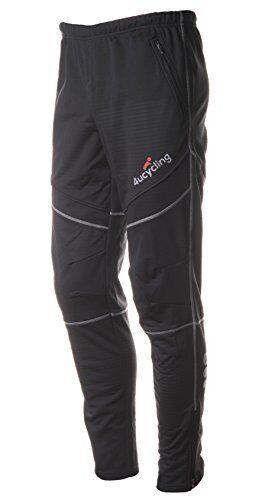 NEW 4ucycling men/'s athletic active thermal pants black Xl gangsuo SHIPS FREE