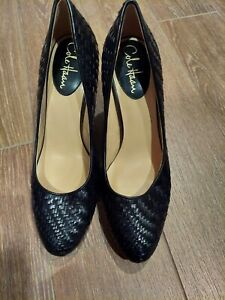 Cole Haan Shoes Heel Leather /Black Size 8,5