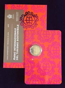 2-Euro-Gedenkmuenze-2017-San-Marino-034-Tourismus-034-im-Original-Folder