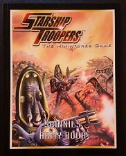 STARSHIP TROOPERS The Miniatures Game Skinnies Army Book 2006 MGP 9208 SC NEW!