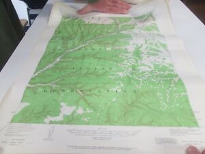 Soda Canyon Colorado Topographic Map Us Geological Survey 196 Ebay - Soda-map-of-the-us