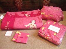 Pottery Barn Kids Mermaid Crib Toddler Quilt Set She Sells Seashells Rhyme Fish