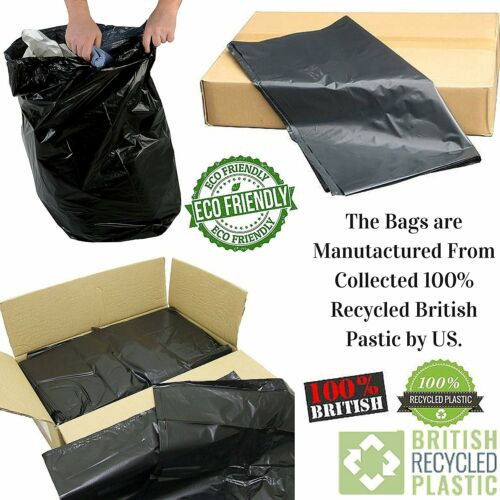 Heavy Duty suis bags-suis Rubbish-Waste Garbage refuse-Liners-t-il 50-100