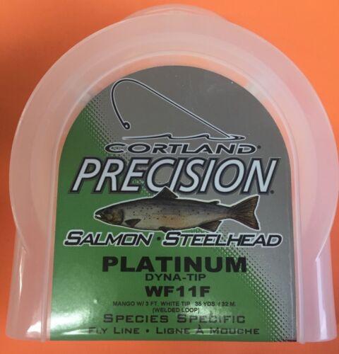 Cortland Precision Salmon-Steelhead Platinum Dyna Tip WF11F Fly Line