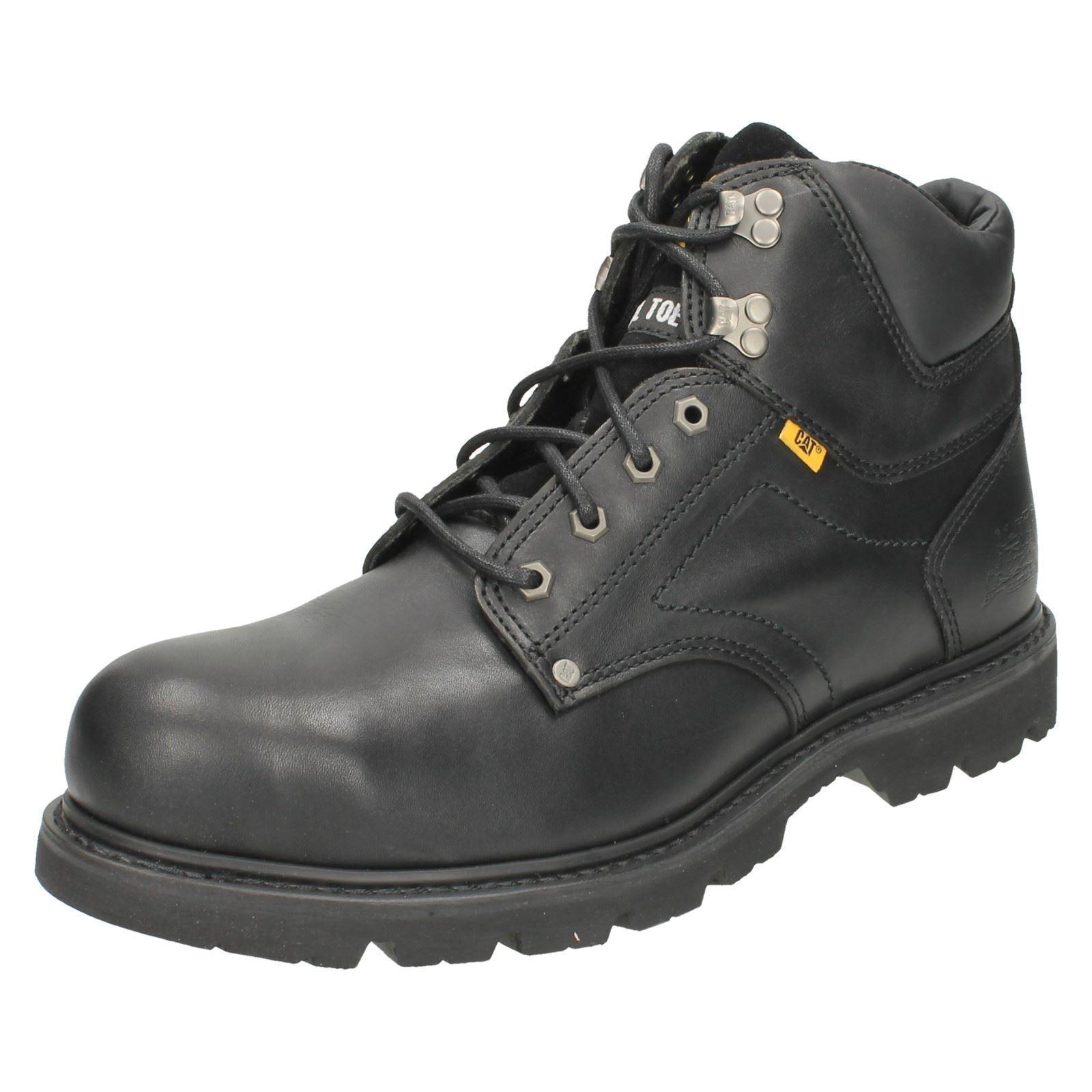 Hombre Hombre Hombre Grouser St leather steel toe cap botas by Caterpillar 59.99 c31c98