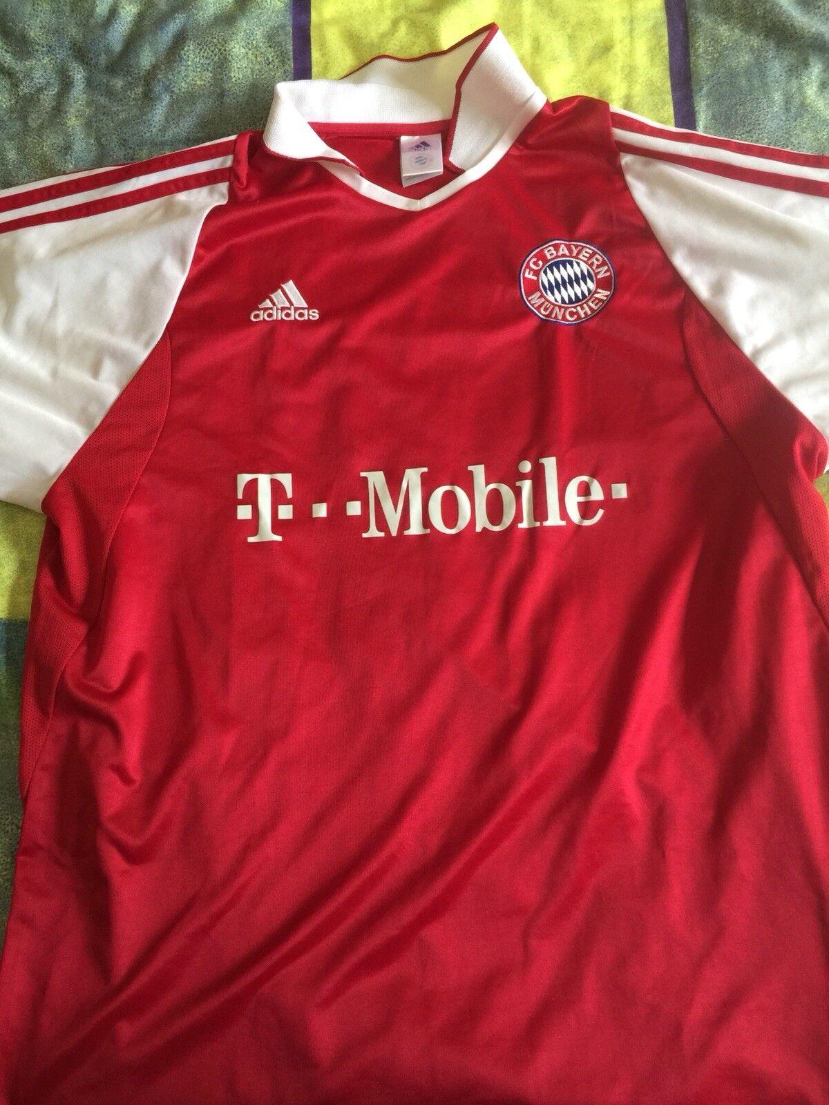 t Mobile trikot münchen Bayern XL 2003 Preis Niedriger