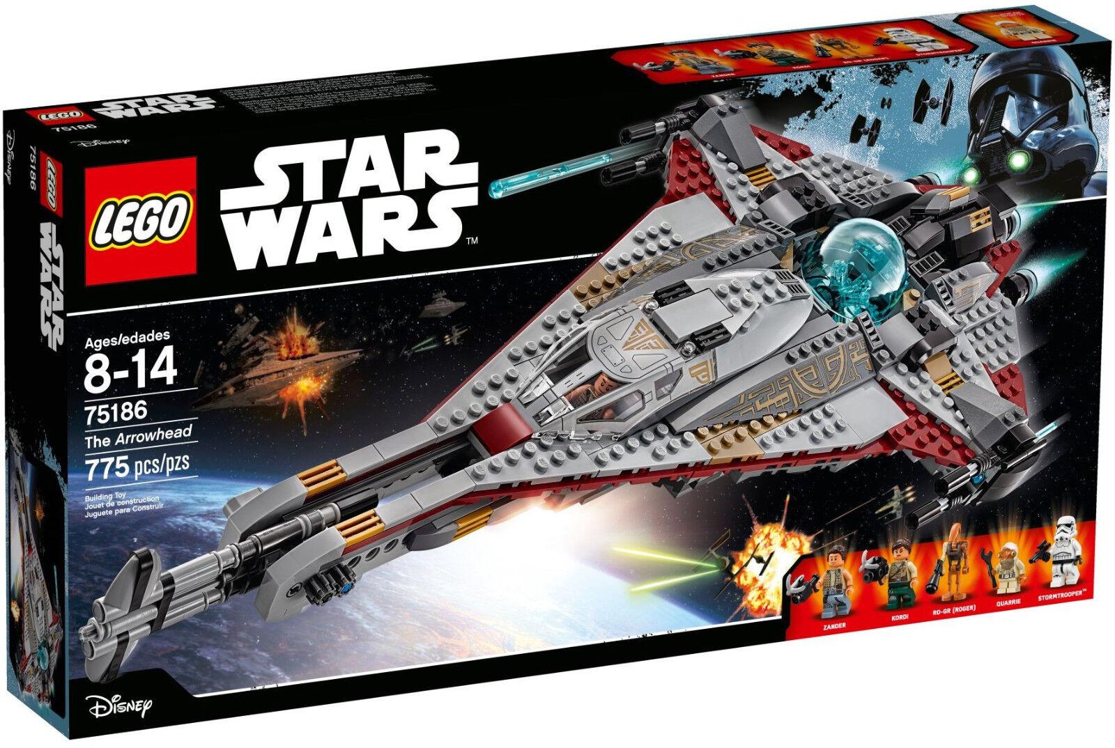 benvenuto a comprare LEGO Estrella Guerras 75186-LA PUNTA DELLA DELLA DELLA FRECCIA-NUOVO e SIGILLATO (ribelli)  grande sconto
