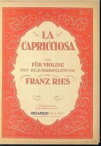 Franz-Ries-LA-CAPRICCIOSA-Violine-und-Klavier