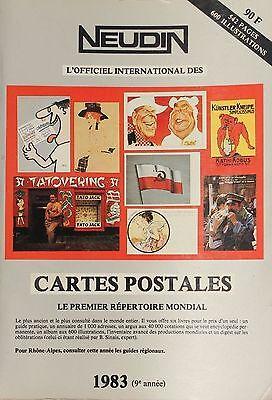 Genossenschaft Kollektion Neudin 1983-9° Jahre Verzeichnis Der Postkarten