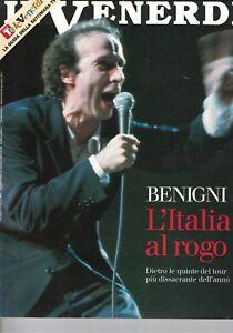 1995 08 18 - IL VENERDI DI REPUBBLICA - 18-08-1995 - N.390 - ROBERTO BENIGNI - Italia - 1995 08 18 - IL VENERDI DI REPUBBLICA - 18-08-1995 - N.390 - ROBERTO BENIGNI - Italia