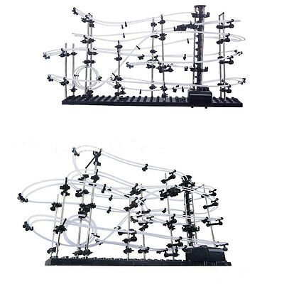 Space Rail Level 3 Marble Roller Coaster SpaceWarp Puzzle Toy Gift 16000mm 231-3