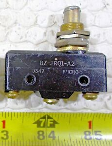 Two New Honeywell Microswitch BZ-2RQ1-A2 Limit Switches 2