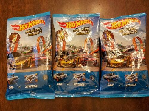 /& #3 Datsun #2 Mazda Hot Wheels 2019 Mystery Models Series 3 *CHASE* #1 Ford