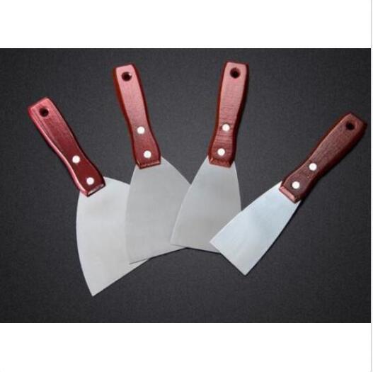 4 Pcs Stainless Steel Putty Knife Putty Knife Blade Knife Batch Knife