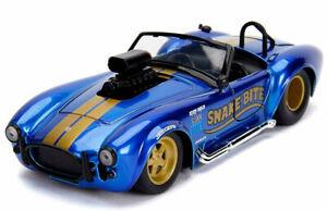 Shelby-Cobra-427-S-Modelo-1-24-Die-Cast-Coche-De-Juguete-En-Miniatura-Modelos-Jada-427S