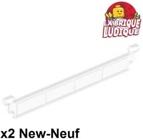 Lego 2x Garage Store Curtain Ring Roll Skate Door Clear Trans Clear 4218 New