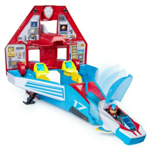PAW Patrol 2-in-1 Transforming Mighty Pups Jet Command Center Super PAWs