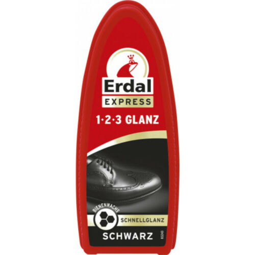 Erdal 1-2-3 Glanz Schwarz Schnellglanz Express