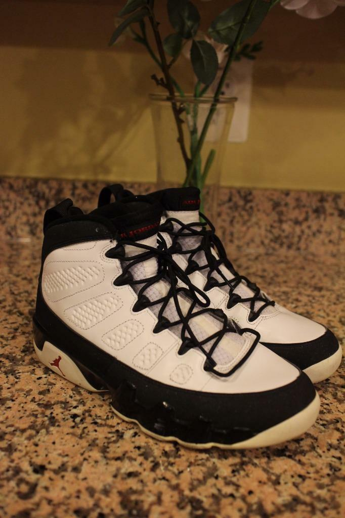 "Jordans Retro 9s Air Jordan 9 OG  Space Jams"" 302370 Mens Basketball shoes SZ 8"