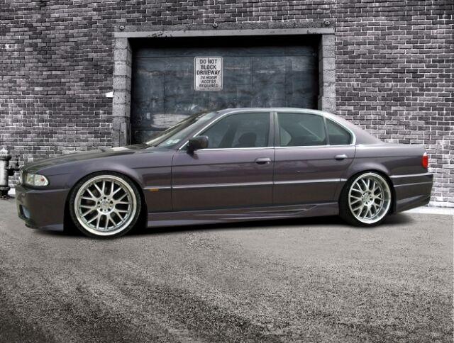BMW 7er E38 Schweller Seitenschweller Set ABS M GT
