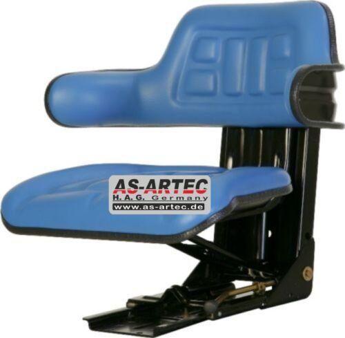 Traktor asiento azul sede un resorte ford 4000-5000 tractor remolcador retroexcavadoras