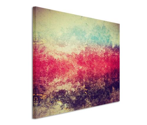 Leinwandbild 120x80cm auf Keilrahmen abstrakt,kunst,farbe,rot,wall,bunt