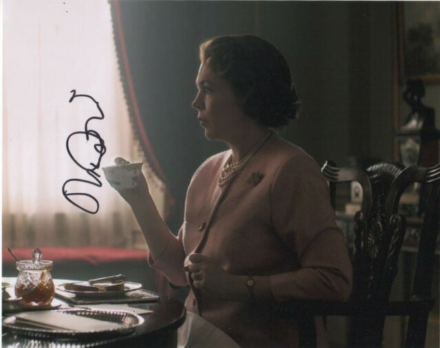 Olivia Colman The Crown Autographed Signed 8x10 Photo COA AB17