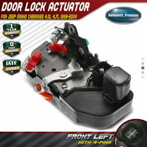 Door Lock Actuator For Jeep Grand Cherokee 1999 2000 2001 2002 03 04 Front Left Ebay