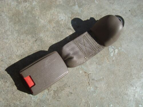 1998 1999 2000 Toyota Tacoma Extended Cab Tan Rear Seat Belt Buckle