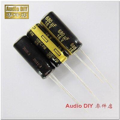 Panasonic FC 120UF 50V AUDIO Grade Electrolytic Capacitors 10pcs// 20 pcs//50pcs